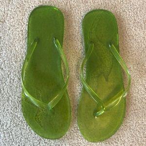 Hollister Jelly Flip Flops